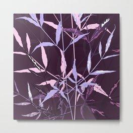 leaves turning purple Metal Print