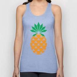 Diamond Pineapple Unisex Tank Top