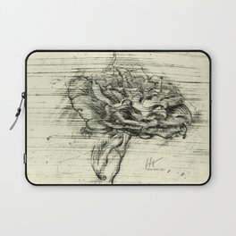 """Italian Courtyard Rose"" Laptop Sleeve"