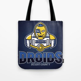 Desert County Droids - Navy Tote Bag