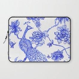 Chinoiserie Peacock Laptop Sleeve