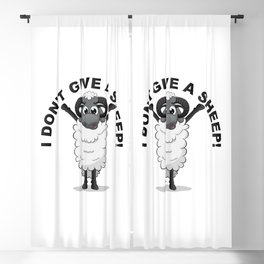I don't give a sheep! Blackout Curtain