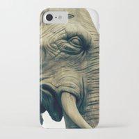 bastille iPhone & iPod Cases featuring L'éléphant de la Bastille by The Last Sparrow