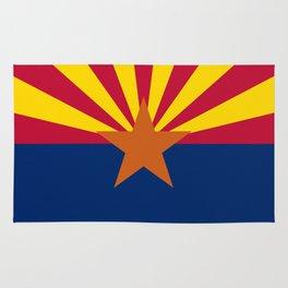 State flag of Arizona, Authentic HQ image Rug