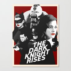 The Dark Knight Rises Canvas Print