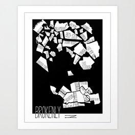 Brokenlyn Art Print