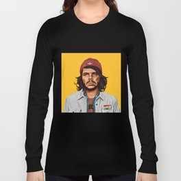 Hipstory - che guevara Long Sleeve T-shirt
