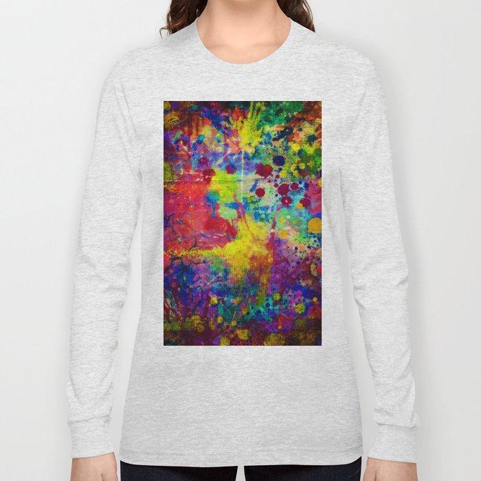 colorful canvas ii Long Sleeve T-shirt