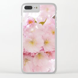 Japanese cherry tree Clear iPhone Case