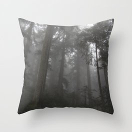 Mount Pilchuck 01 Throw Pillow