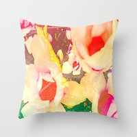 spice Throw Pillows featuring Spice up by Tyland Creations