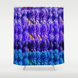 Lavender's Blue Shower Curtain