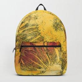 Modern Sunflower Backpack