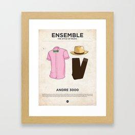 Ensemble - Andre 3000 Framed Art Print