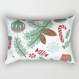 Christmas Pattern 06 Rectangular Pillow