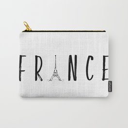 FRANCE Typography | Panoramic Carry-All Pouch