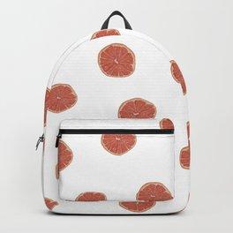 Pink Grapefruit Pattern Backpack