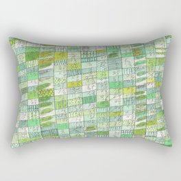 green 13 Rectangular Pillow