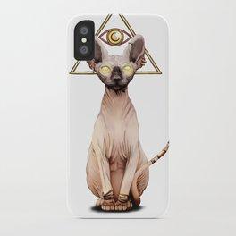 Kitty God iPhone Case