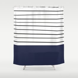 MARINERAS DARKBLUE Shower Curtain