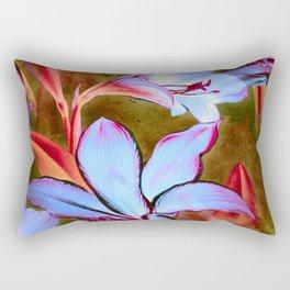 Mauve Lilies Rectangular Pillow