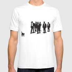 Reservoir Dogs Mens Fitted Tee White LARGE
