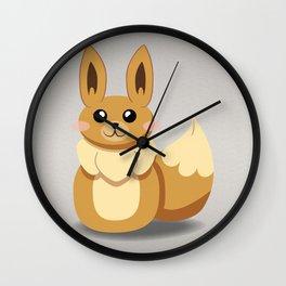Evolution Bobbles - Eevee Wall Clock