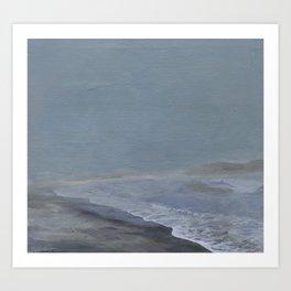 LA Ocean Art Print