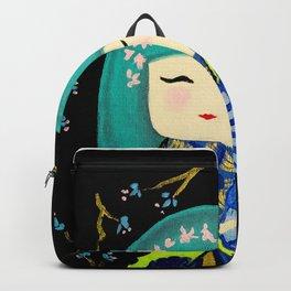 Green Kimi Doll Backpack