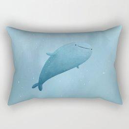 Cute Whale Shark Rectangular Pillow