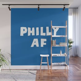 Philly AF (Blue) Wall Mural