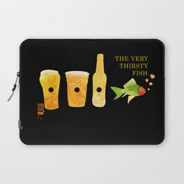 the very thirsty fish Laptop Sleeve