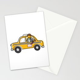 Taxi Writer Stationery Cards