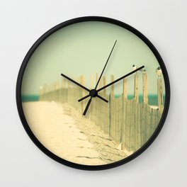 Into the Distance Wall Clock