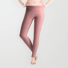 Blush Pink Streaky Hand Painted Watercolor Leggings