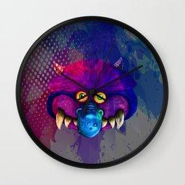 Monster pop art Wall Clock