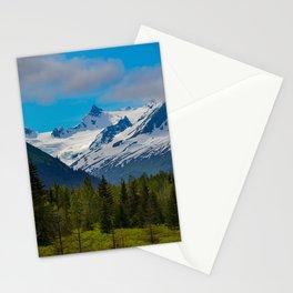 Bear_Creek Mountain Glacier - Alaska Stationery Cards