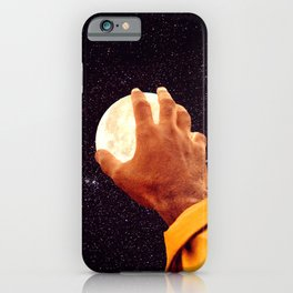 Reach For the Moon-Starry Collage iPhone Case