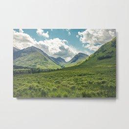 Mountain Spring Metal Print