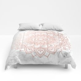 Pleasure Rose Gold Comforters
