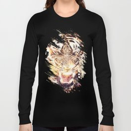 Feline Fire Long Sleeve T-shirt