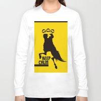keep calm Long Sleeve T-shirts featuring Keep Calm  by DibelGraphics /www.dibel.cz