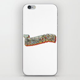 Vintge Tennessee Big Letter iPhone Skin