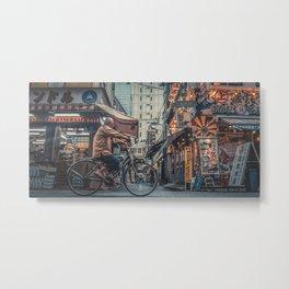 TOKYO BLOOM - TIME WHEEL Metal Print