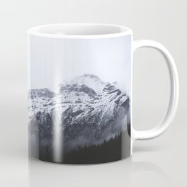 MOUNTAINS - LANDSCAPE - FOG - SNOW Coffee Mug