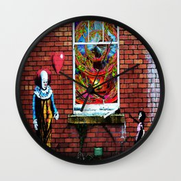 Forget the balloon, I want the trip! Wall Clock