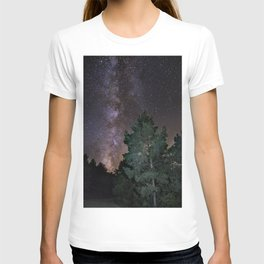 Summer Milkyway. At the mountains T-shirt