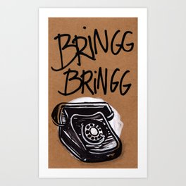 Call Art Print