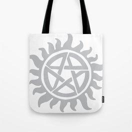 Anti possession seal grey  Tote Bag
