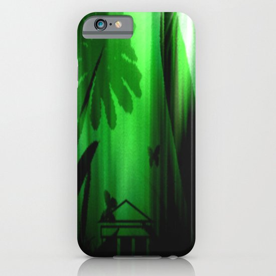 Deep in the rain forest. iPhone & iPod Case